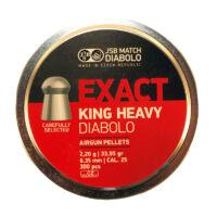 JSB Exact King Heavy cal. 6.35 (.25) lövedék