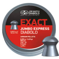 JSB Jumbo Express cal. 5.52 (.22) lövedék, 250 db.