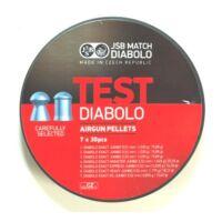 JSB Exact TEST cal. 5.5 (.22) lövedék válogatás