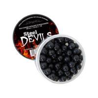 Steel Devils gumilövedék fémporral, 10 mm