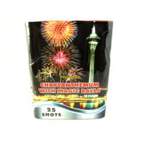 Chrysanthenum with Magic Balls, 25 lövéses telep