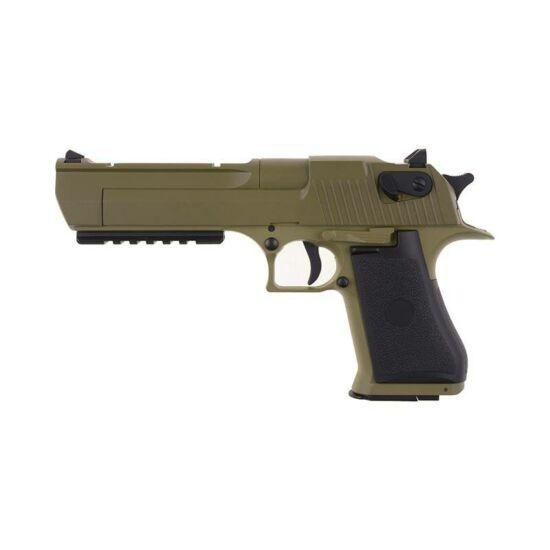 CM121 Desert Eagle Tan elektromos airsoft pisztoly