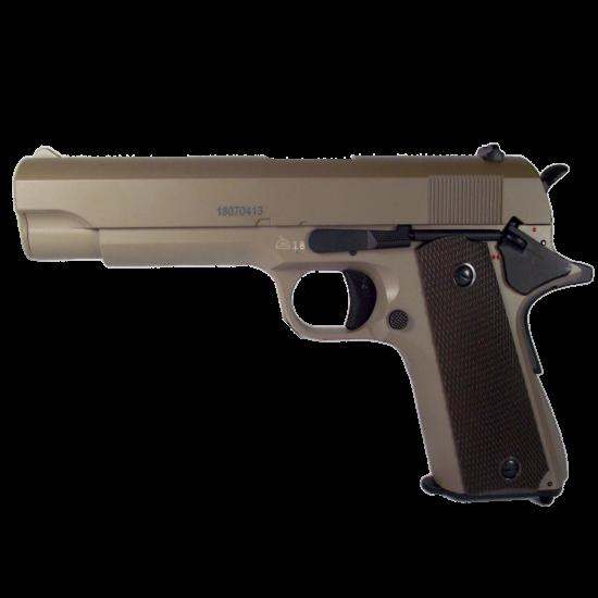 CM123 Colt 1911 elektromos pisztoly, tan