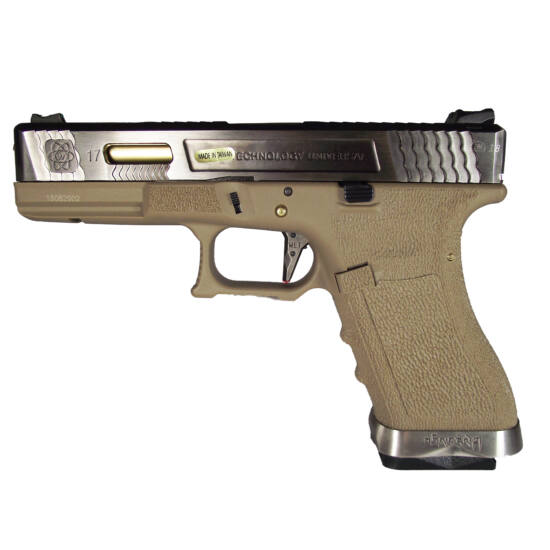 WE Glock 17 Force GBB airsoft pisztoly