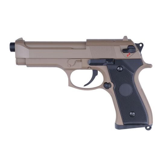 Cyma CM126 Tan Beretta 92 elektromos airsoft pisztoly