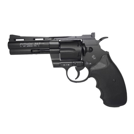 """Colt Python 4"""" fekete airsoft pisztoly CO2"""