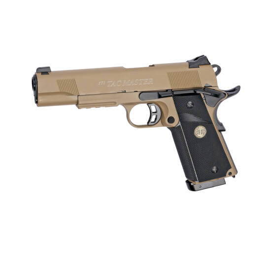 STI Tac Master 1911, full fém GBB airsoft pisztoly, CO2