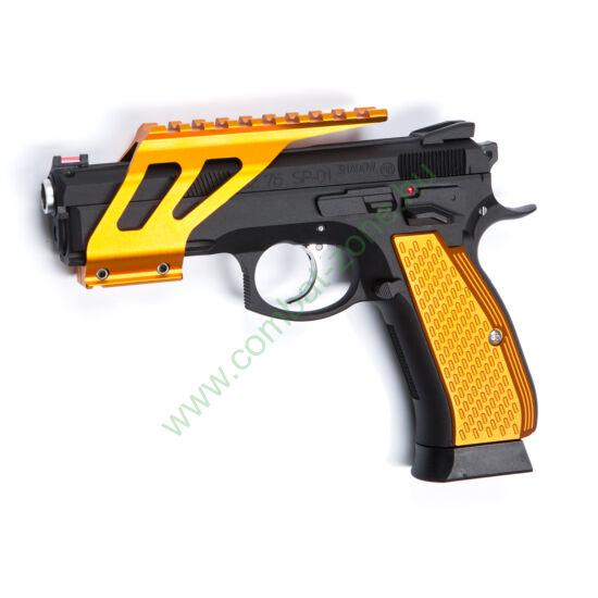 CZ SP-01 Shadow szerelék, narancs