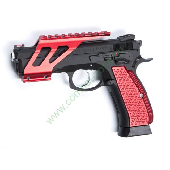 CZ SP-01 Shadow szerelék, piros
