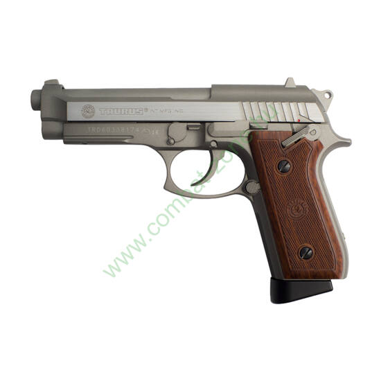 Taurus PT92 Hairline Silver Edition airsoft pisztoly, full fém