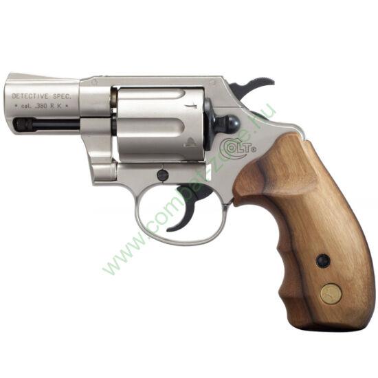 Colt Detective Special gáz-riasztó pisztoly, nikkel