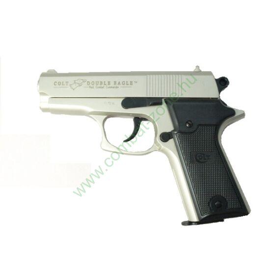Colt Double Eagle gáz-riasztó pisztoly, nikkel