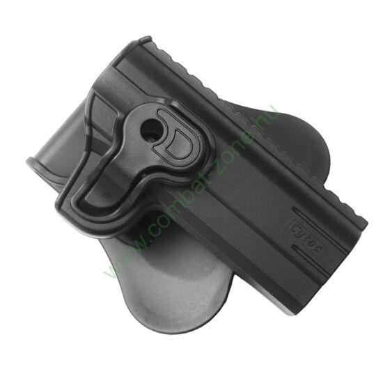 """Cytac műanyag pisztolytok, Colt 1911 4"""""""