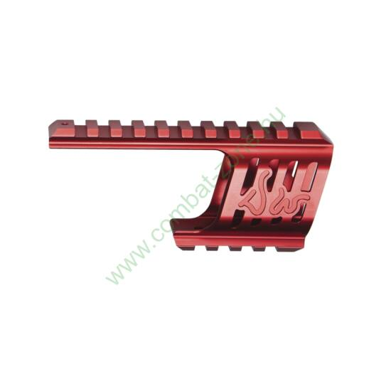 Dan Wesson 715 CNC szerelék, piros