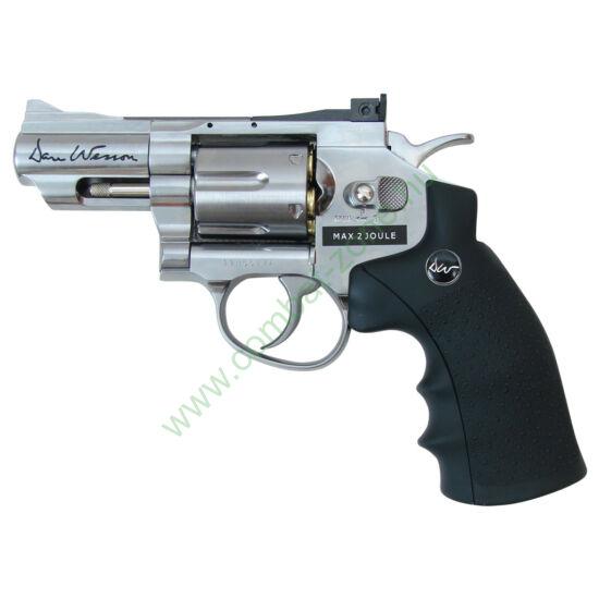 """Dan Wesson 2,5"""" revolver, nikkel"""
