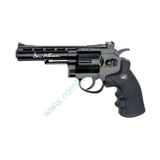 "Dan Wesson 4"" revolver, fekete"
