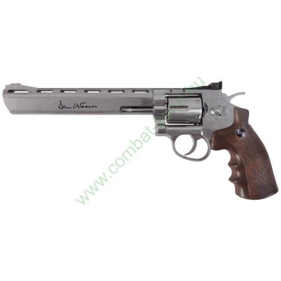 """Dan Wesson 8"""" revolver, nikkel"""