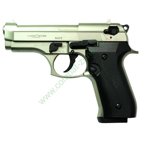 Ekol Navy gáz-riasztó pisztoly, nikkel