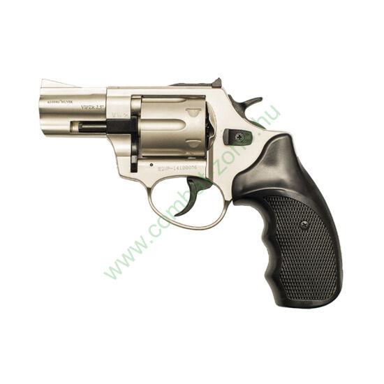 """Ekol Viper 2,5"""" gáz-riasztó pisztoly, nikkel"""