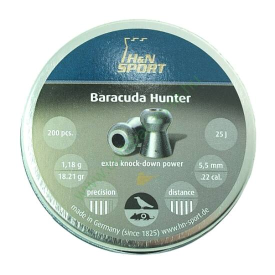 H&N Baracuda Hunter lövedék 5.5mm