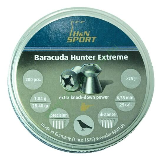 H&N Baracuda Hunter Extreme lövedék 6.35mm