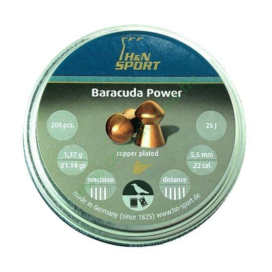 H&N Baracuda Power lövedék 5.5 mm