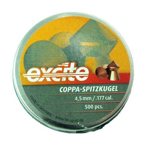 H&N Coppa Spitzkugel lövedék 4.5mm