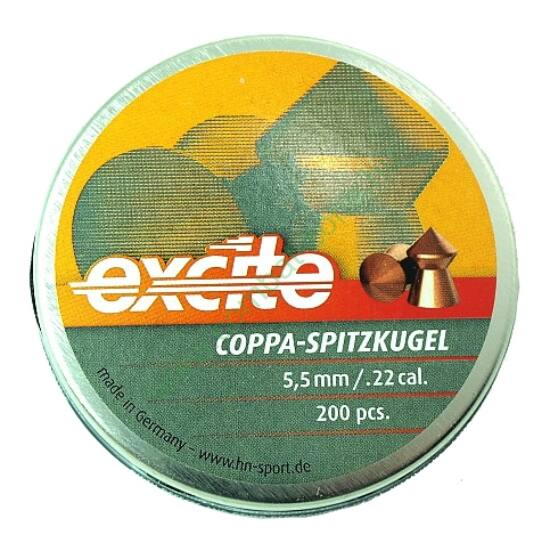 H&N Coppa Spitzkugel lövedék 5.5 mm