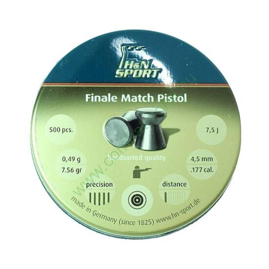 H&N Finale Match Pistol lövedék 4.50 mm