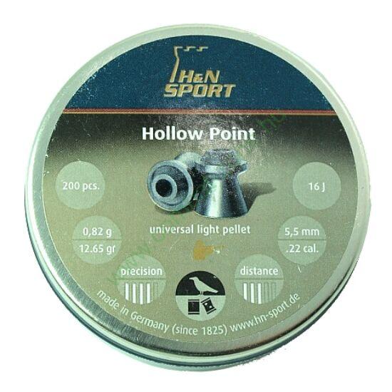 H&N Hollow Point lövedék 5.5mm