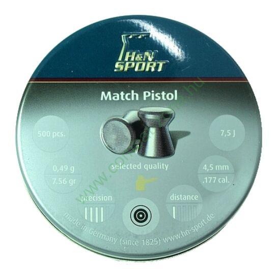 H&N Match Pistol lövedék 4.50 mm