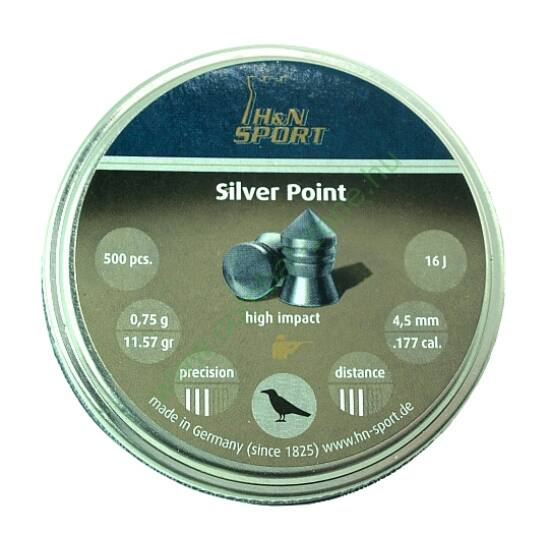 H&N Silver Point lövedék 4.5mm