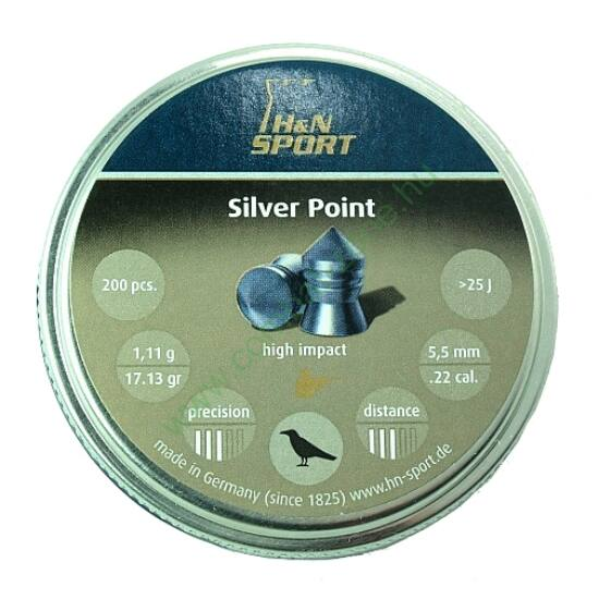 H&N Silver Point lövedék 5.5mm