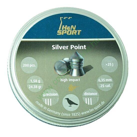 H&N Silver Point lövedék 6.35mm