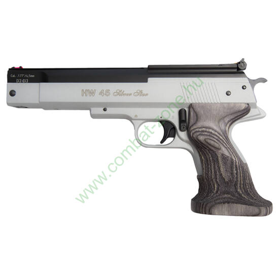 Weihrauch HW 45 Silver Star légpisztoly, cal 4.5 mm