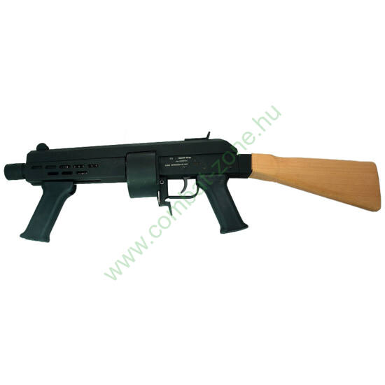 Keserű Home Defender Compact gumis puska, fa tussal