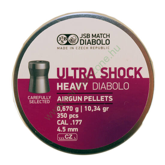 JSB Ultra Shock Heavy lövedék