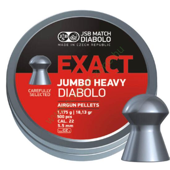 JSB Jumbo Heavy cal. 5.52 (.22) lövedék, 500 db.