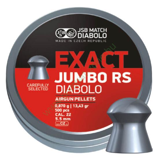 JSB Jumbo RS cal. 5.52 (.22) lövedék, 500 db.