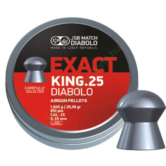 JSB Exact King cal. 6.35 (.25) lövedék