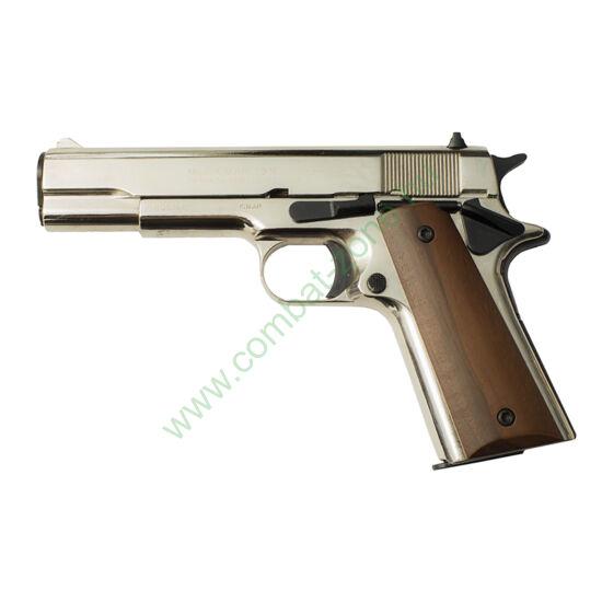 Kimar 1911 gáz-riasztó pisztoly, króm