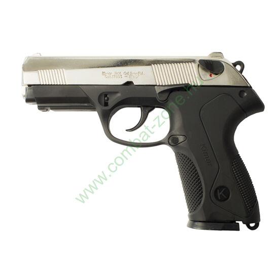 Kimar PK4 gáz-riasztó pisztoly, króm