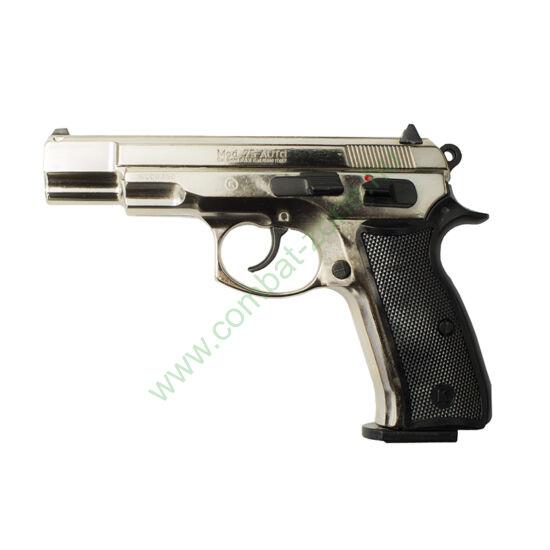 Kimar 75 AUTO gáz-riasztó pisztoly, króm
