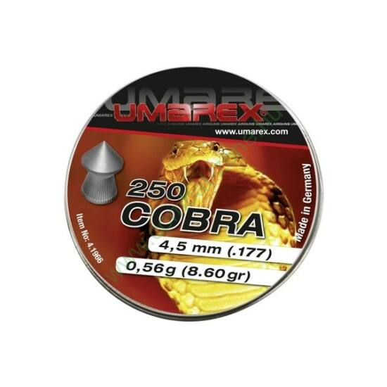 Umarex Cobra hegyes lövedék 4.5mm, kis kiszerelés