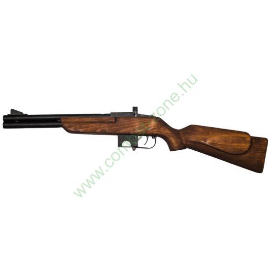 Keserű Omerta gumis gáz-riasztó puska, fa tus