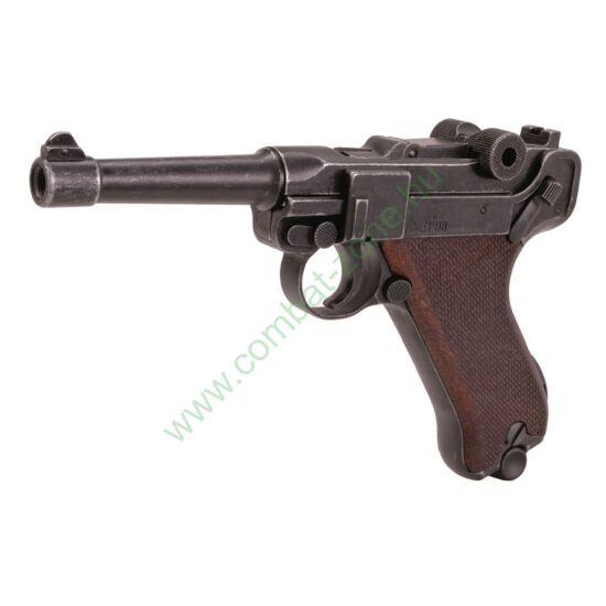 Luger P08 Parabellum gáz-riasztó pisztoly, antikolt