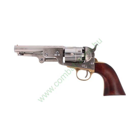 Pietta 1851 Colt Navy Yank U. S. Marshal acéltokos elöltöltős revolver