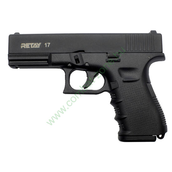 Retay G 17 gáz-riasztó pisztoly, fekete