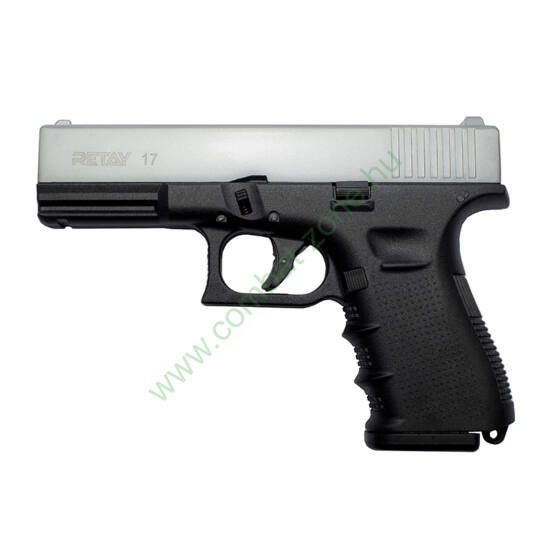 Retay G 17 gáz-riasztó pisztoly, króm