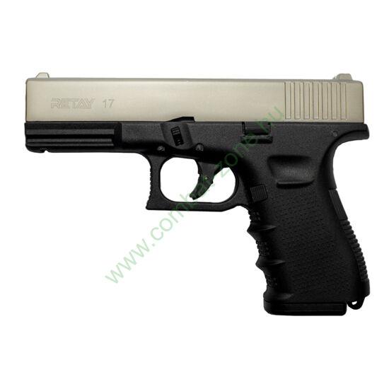 Retay G 17 gáz-riasztó pisztoly, satin